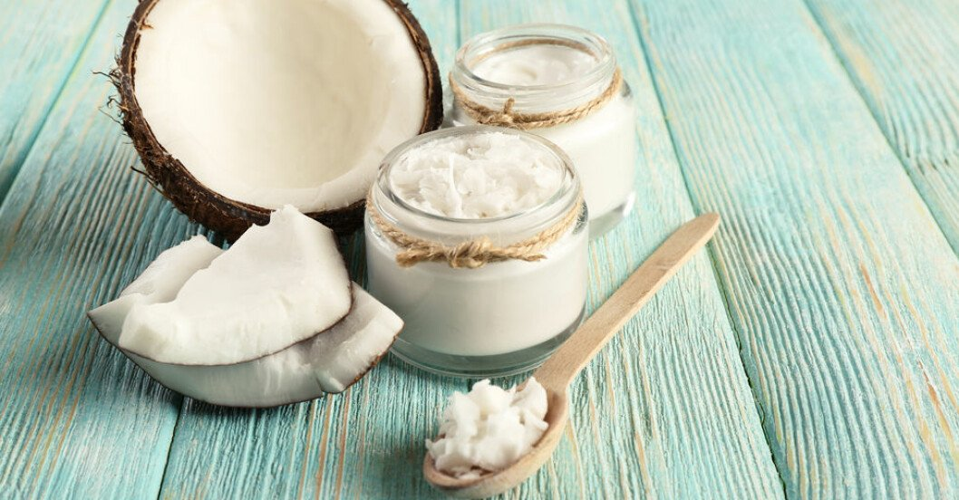 För mycket kokosfett kan skada ditt hjärta.