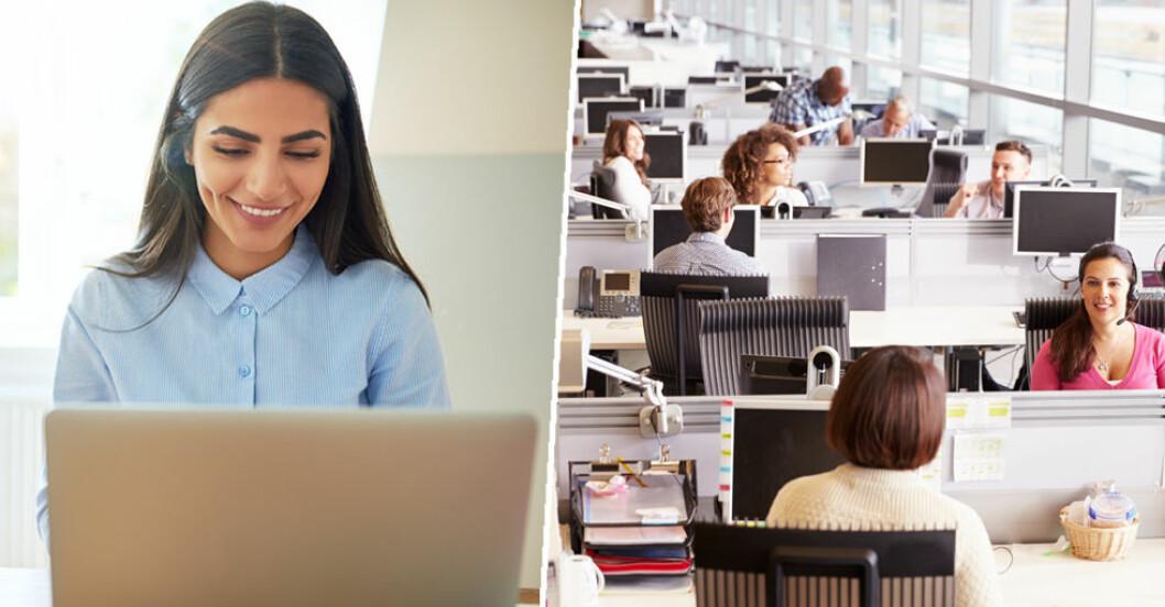 Öppet kontorslandskap må bara fördelaktigt ekonomiskt – men inte för kommunikationen.