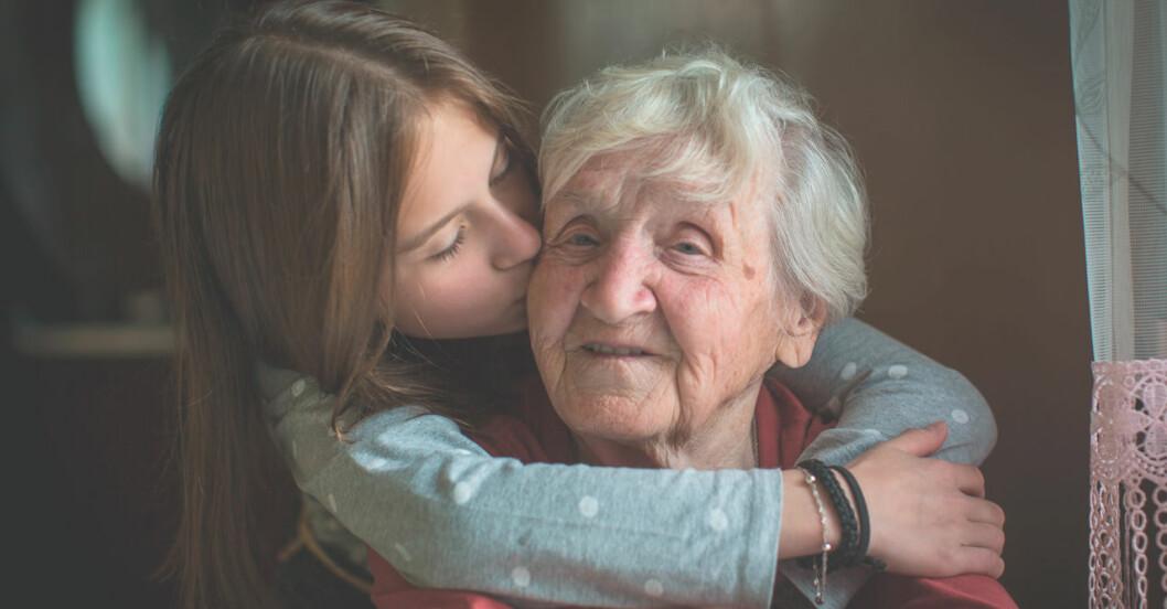 En kram är bra för hälsan!