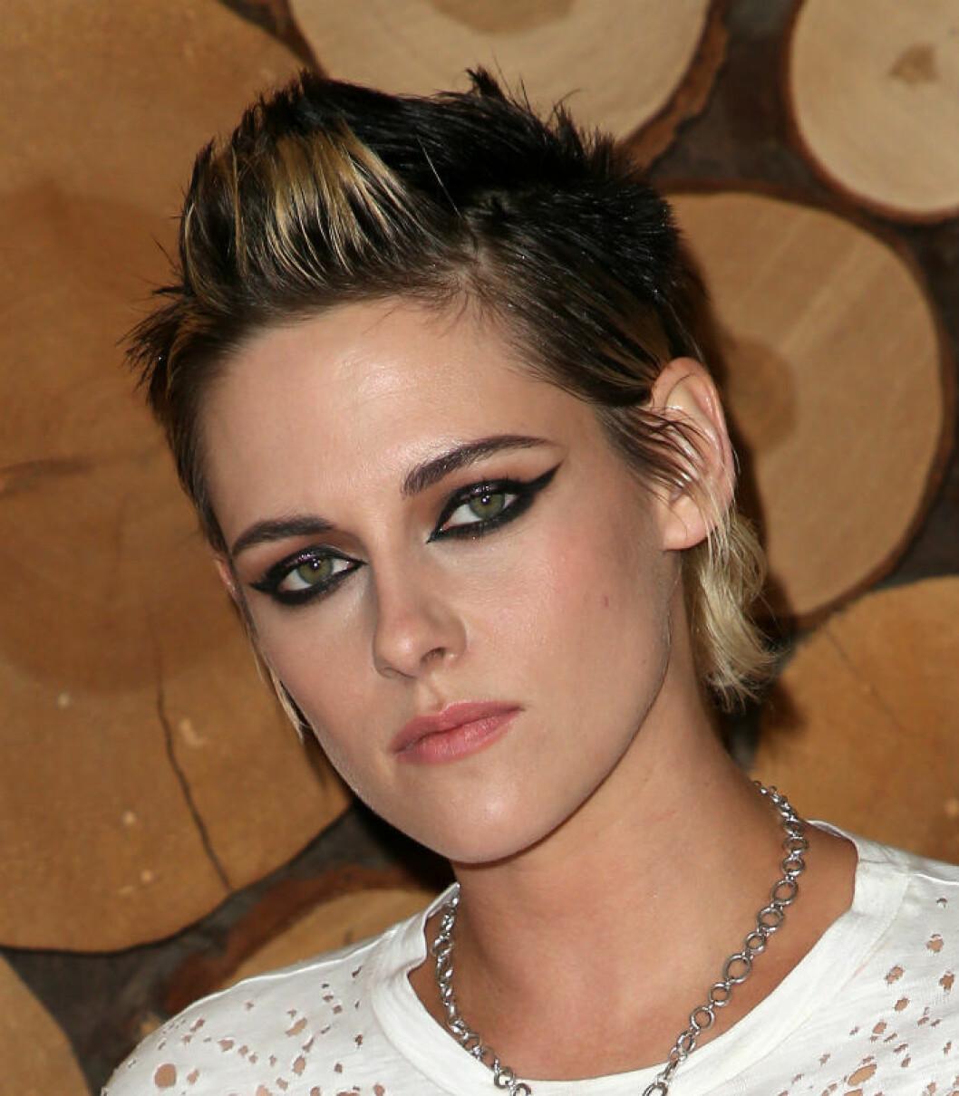 Kristen Stewart i frisyren