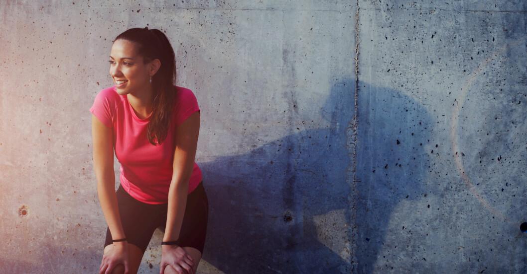 Kvinna har hittat träningsmotivation