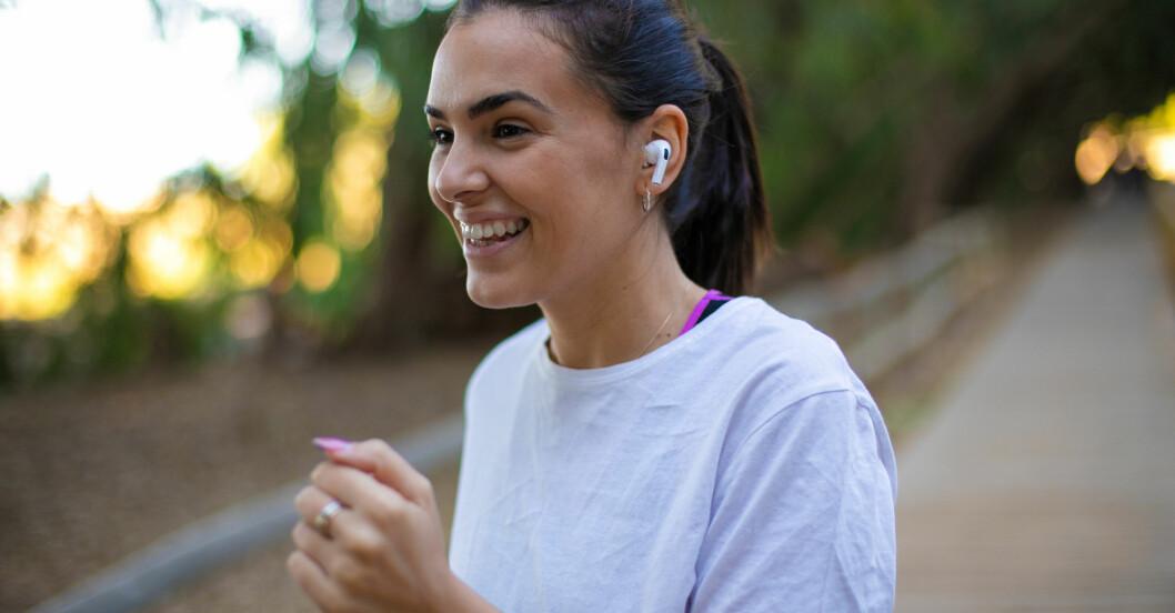 Kvinna har hittat träningsmotivation i löpning