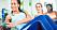 kvinna tränar mage/bål
