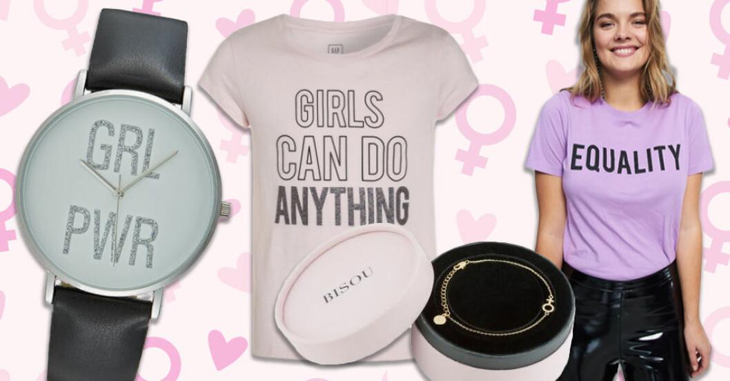 Fira Kvinnodagen med en liten gåva till en inspirerande kvinna!