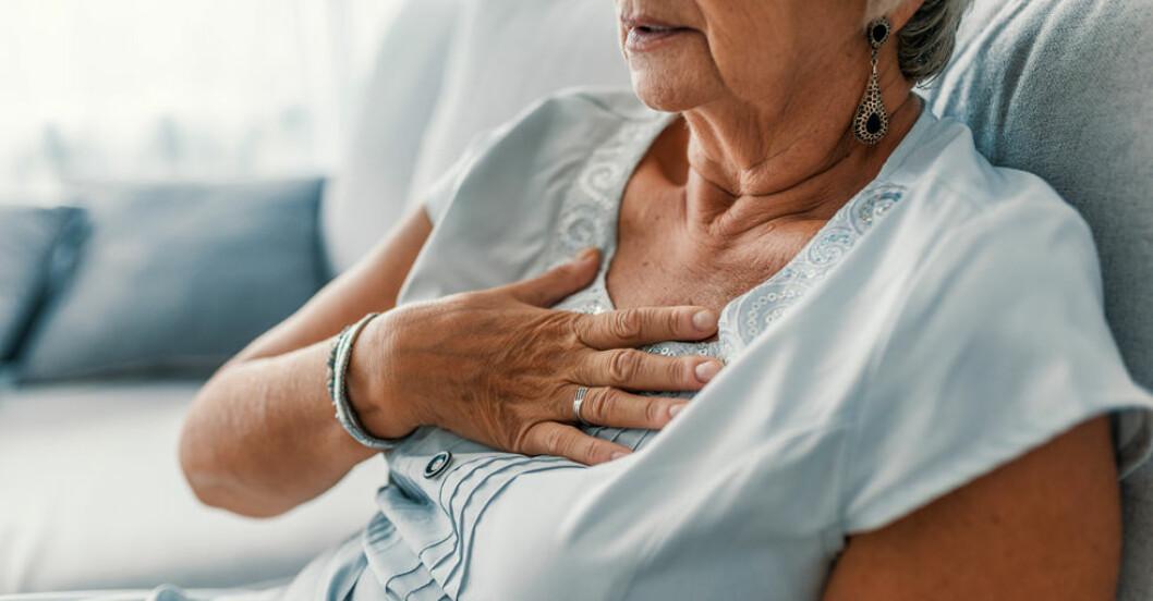 Kvinnor får inte hjärt-lungräddning lika ofta som män.