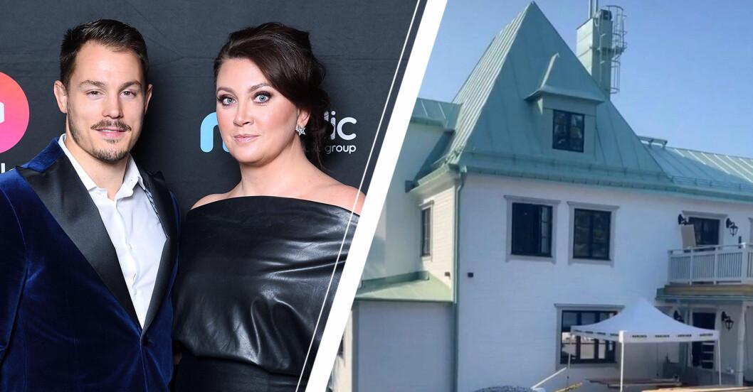 Bilderna på Camilla Läckberg och Simon Skölds nya hus efter renoveringen