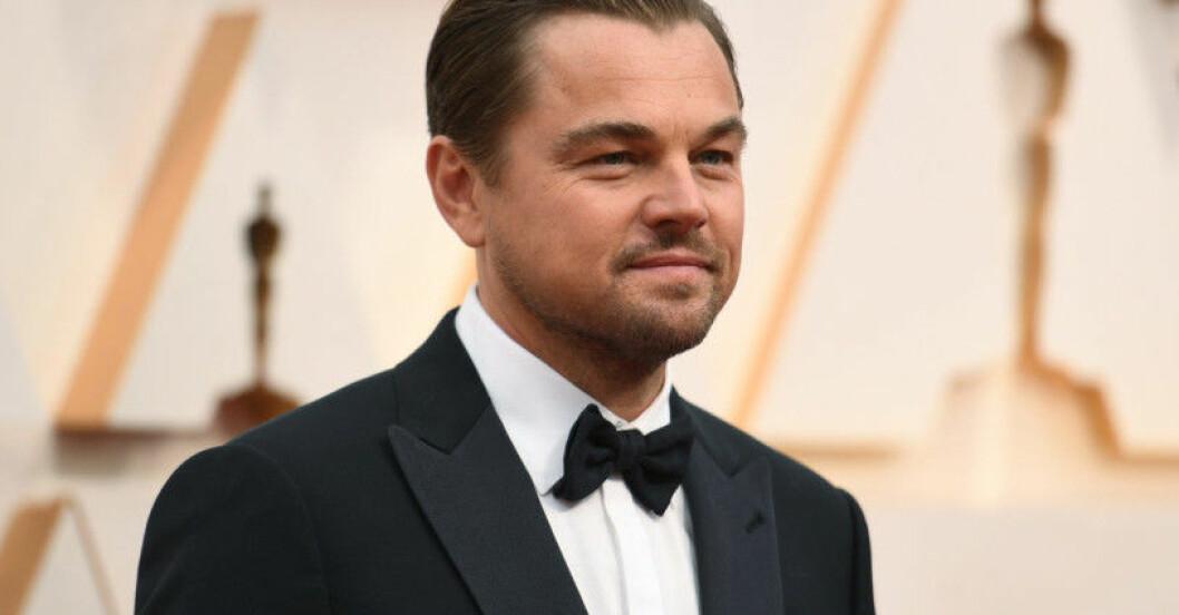 Skådespelaren Leonardo DiCaprio
