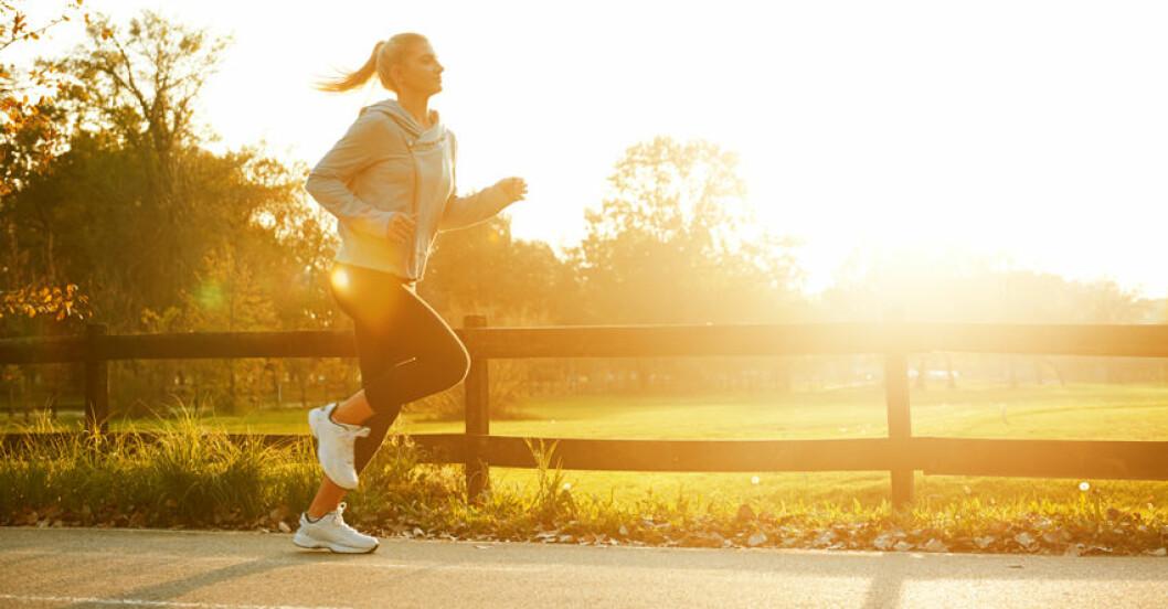 Löpning förlänger livet.