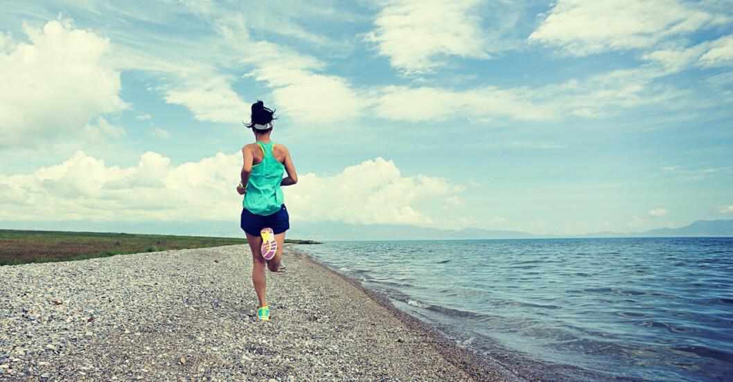 Löpning hjälper mot stress.