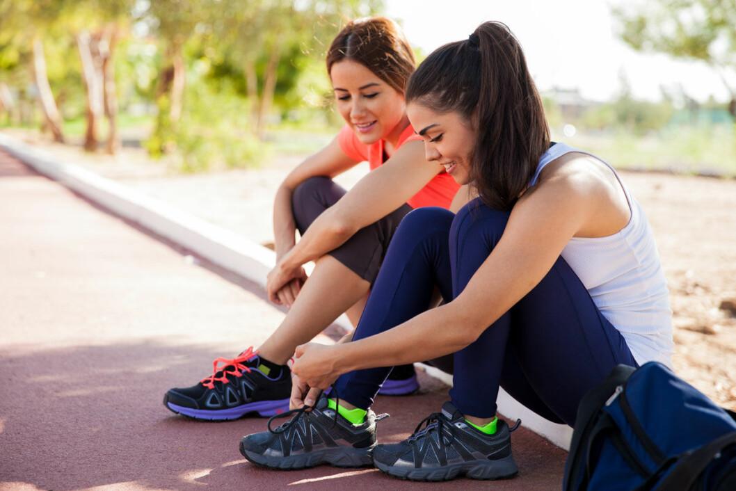 Att springa tillsammans med någon kan vara bra draghjälp.