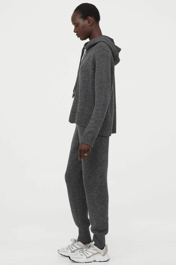 Loungewear set i ull från H&M.