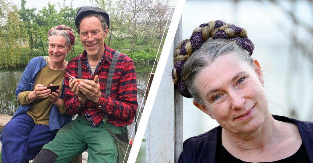 Paret Mandelmann i storg sorg efter husdjuret Siri gått bort.