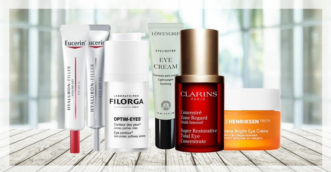 Ögonkräm behövs i en ansiktsvård