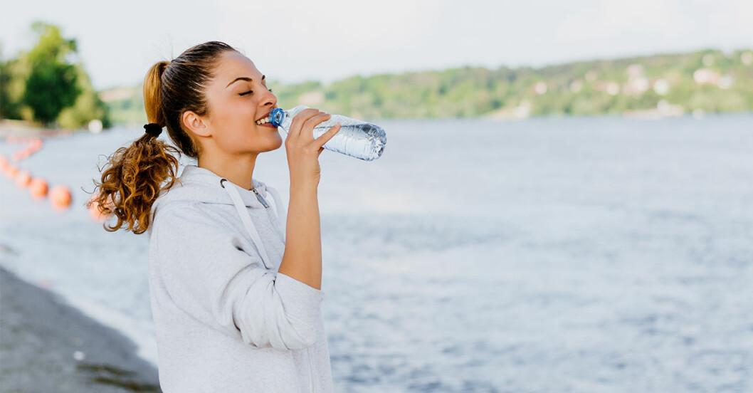 Fem tecken på att du kan ha vattenbrist