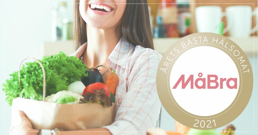 Hälsosam mat: vinnare i måbra-valet 2021