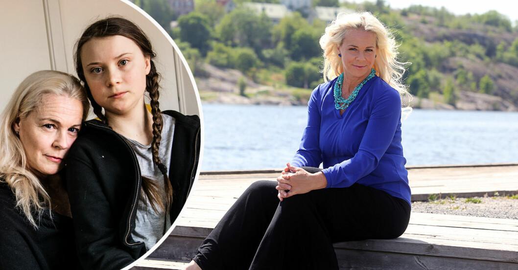 Malena Ernman och dottern Greta Thunberg