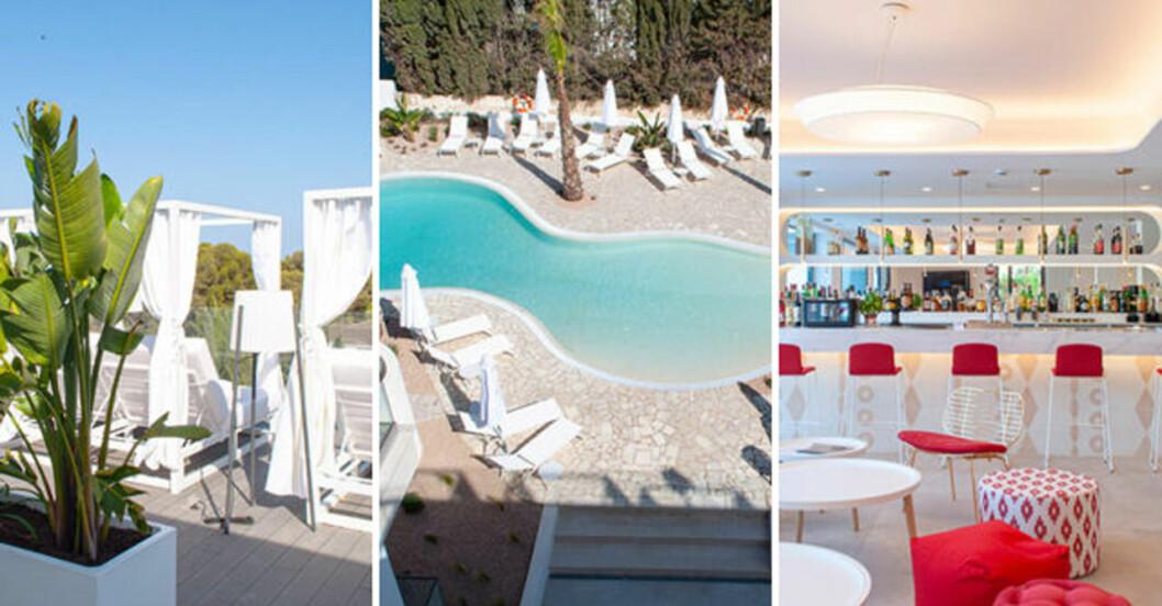 Hotell för kvinnor på Mallorca.