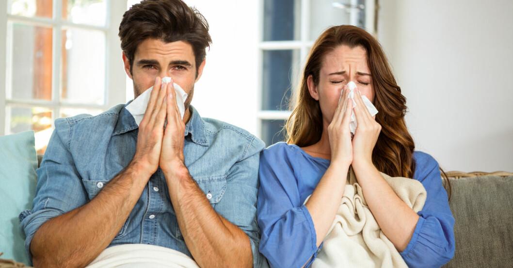 Vem får värst influensa – män eller kvinnor?