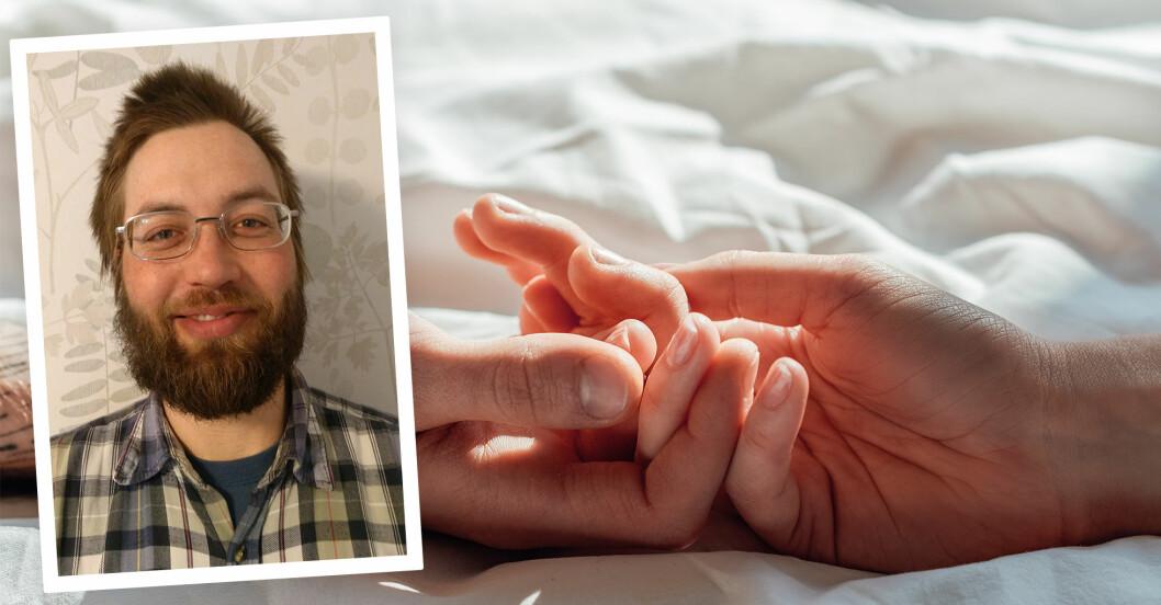 Alexander Hellström har testat preventivmedel för män