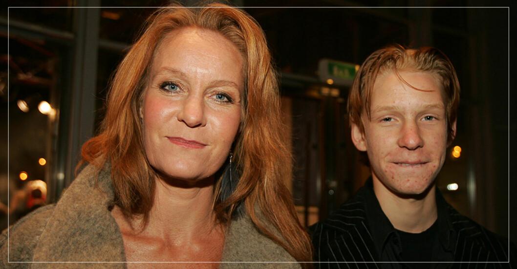 Maria Lundqvists son Anton går i sin mammas fotspår