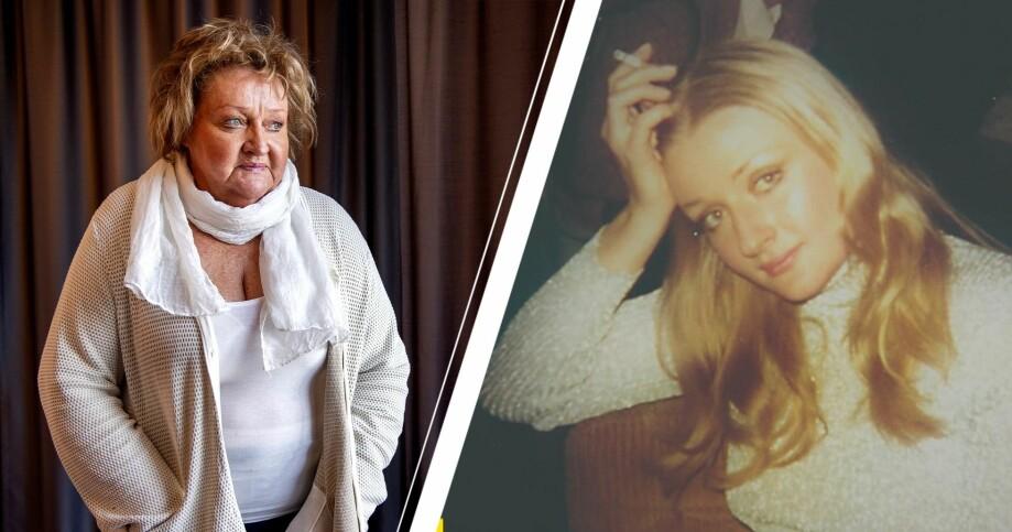 Marianne Mörck idag och som ung