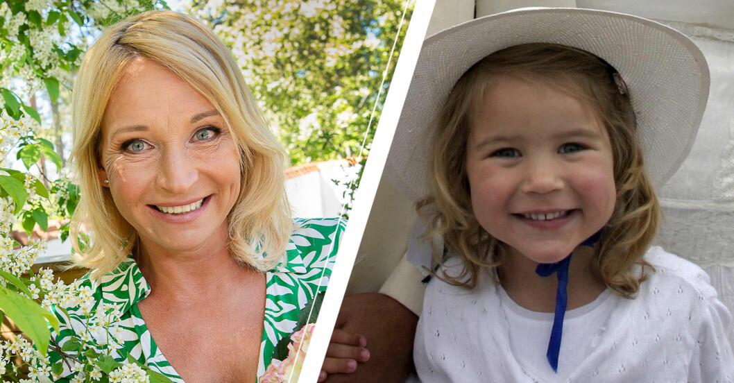 Martina och Erik Haags dotter Lucia har vuxit upp – går i mammas fotspår