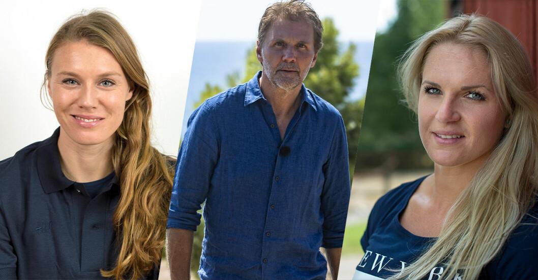 Emma Gren, Micke Leijnegard och Frida Wallberg från Mästarnas mästare 2022