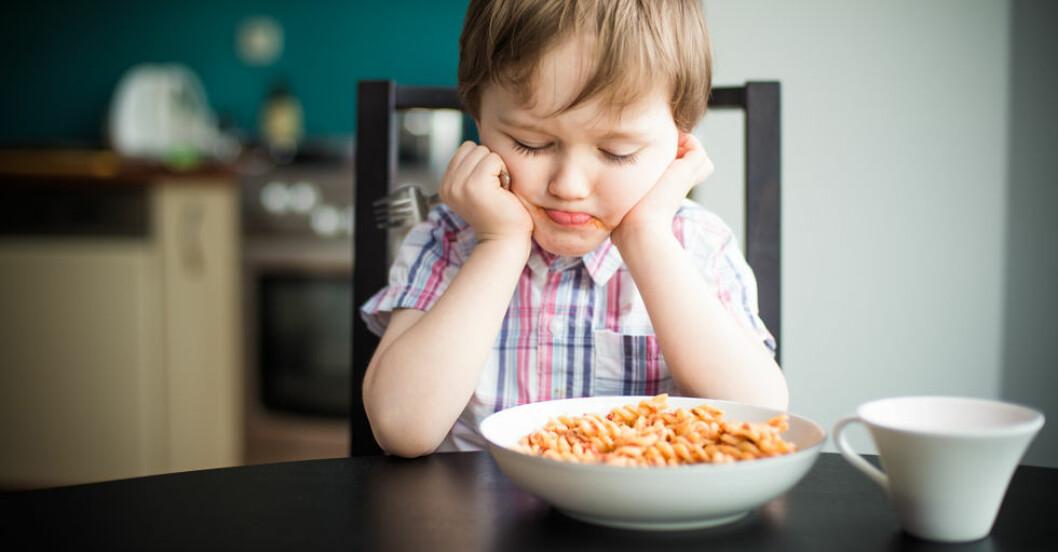 Det är inte alltid lätt att få barnen att äta.