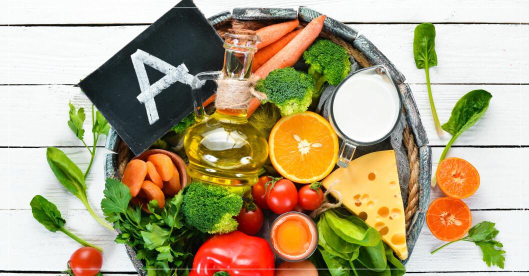 Mat rik på A-vitamin.