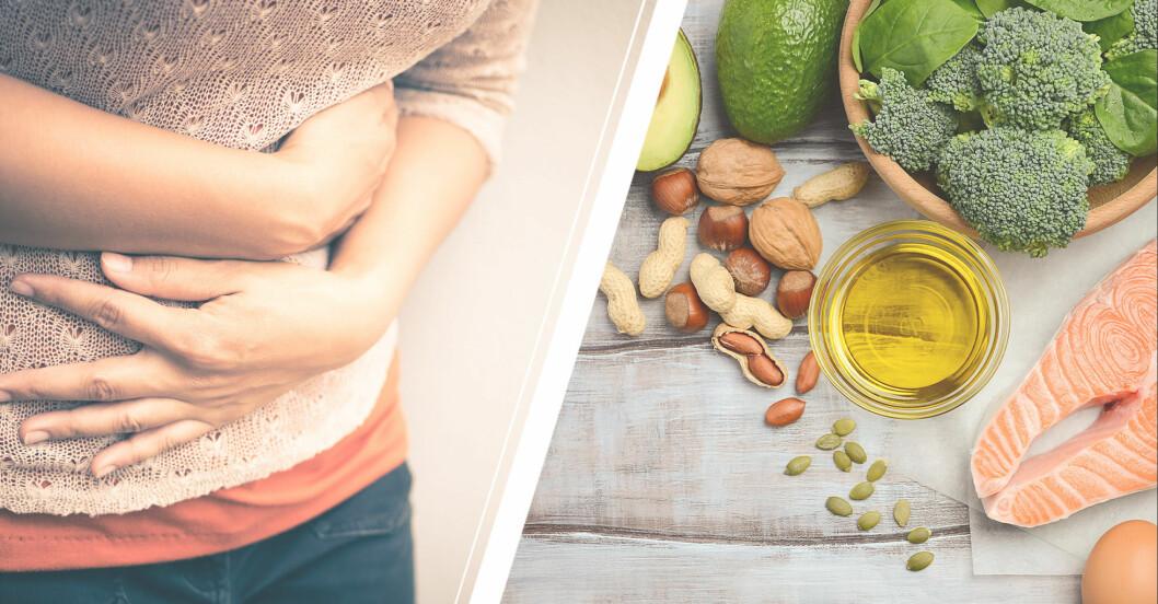 mat som lindrar mensvärk