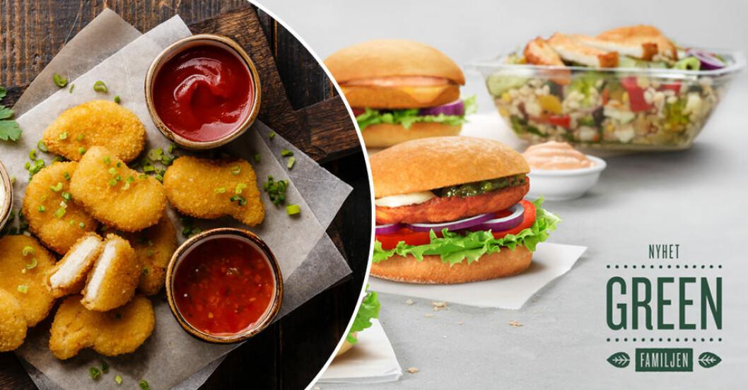 Ny veganska rätter på Max – bland annat Crispy Nuggets!