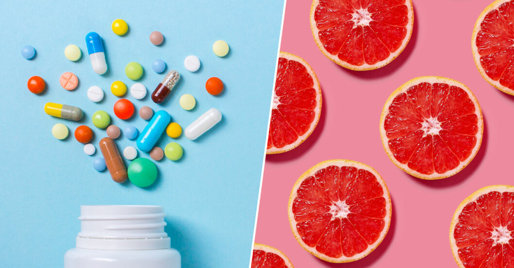 Mediciner och mat.