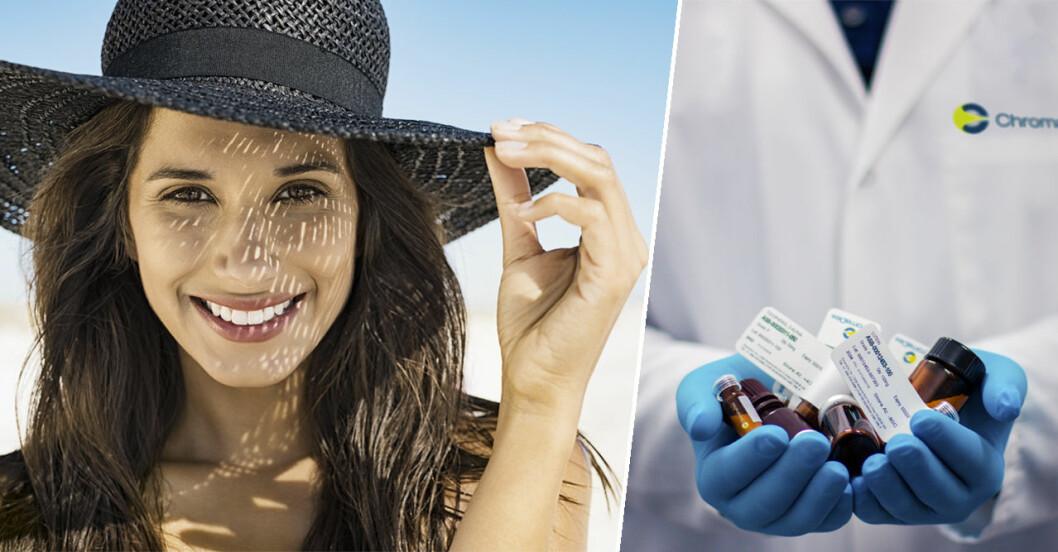 Sol och läkemedel kan orsaka skada på huden.