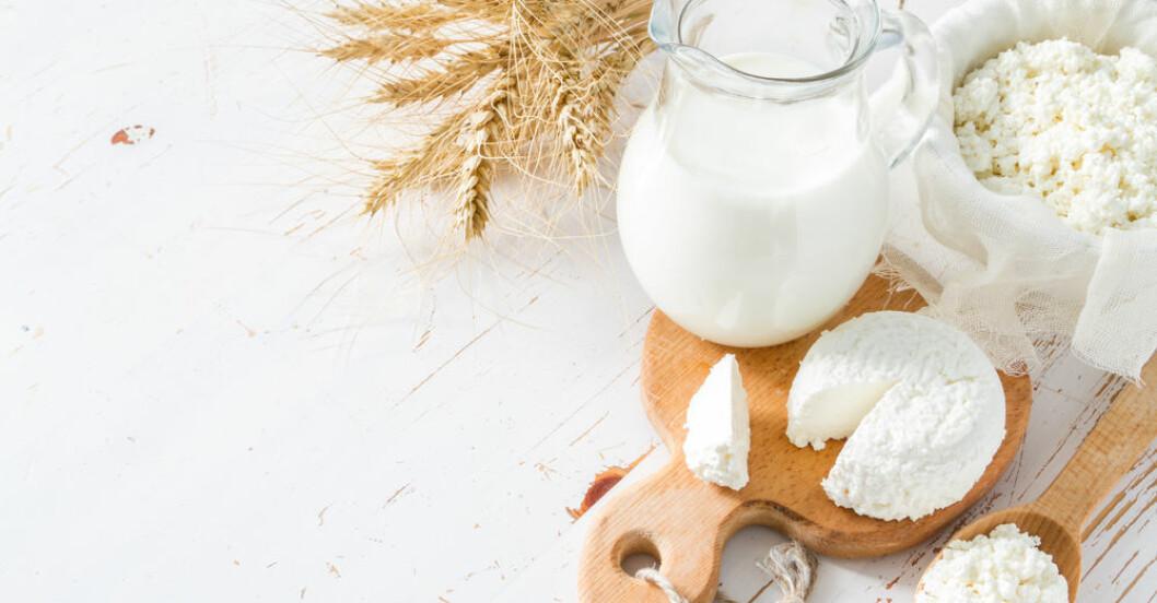 Gå ner i vikt med mjölk.
