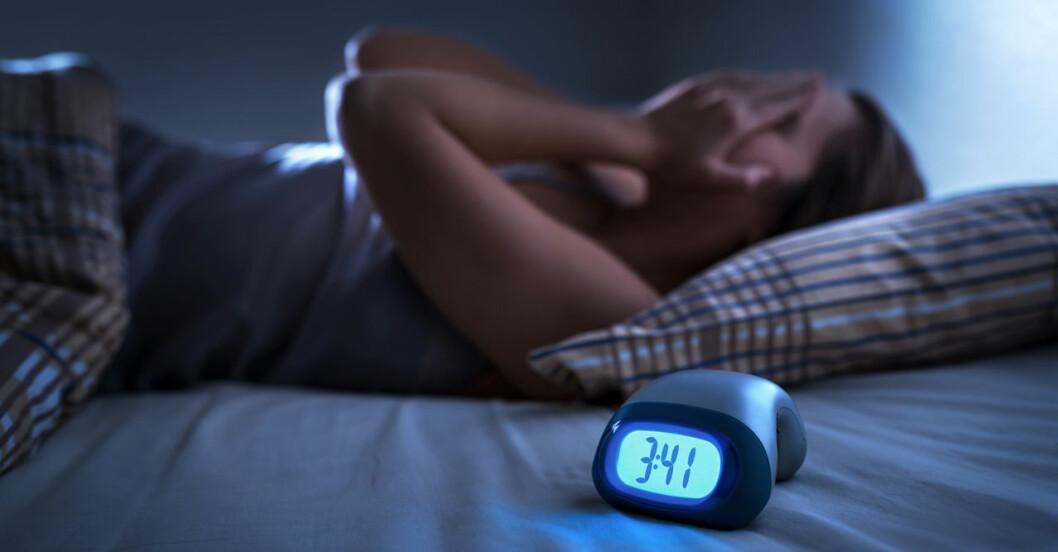 Melatonin mot sömnproblem.