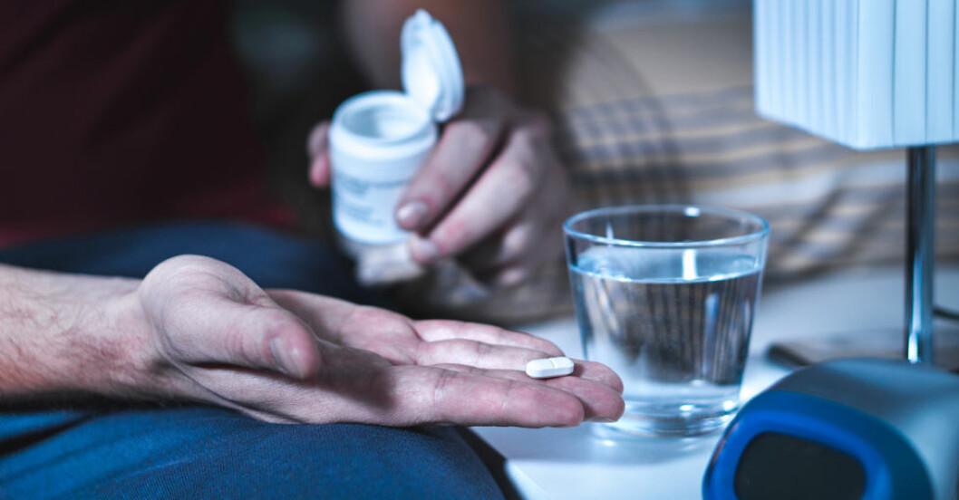 Är det farligt att ta melatonin mot sömnbesvär?