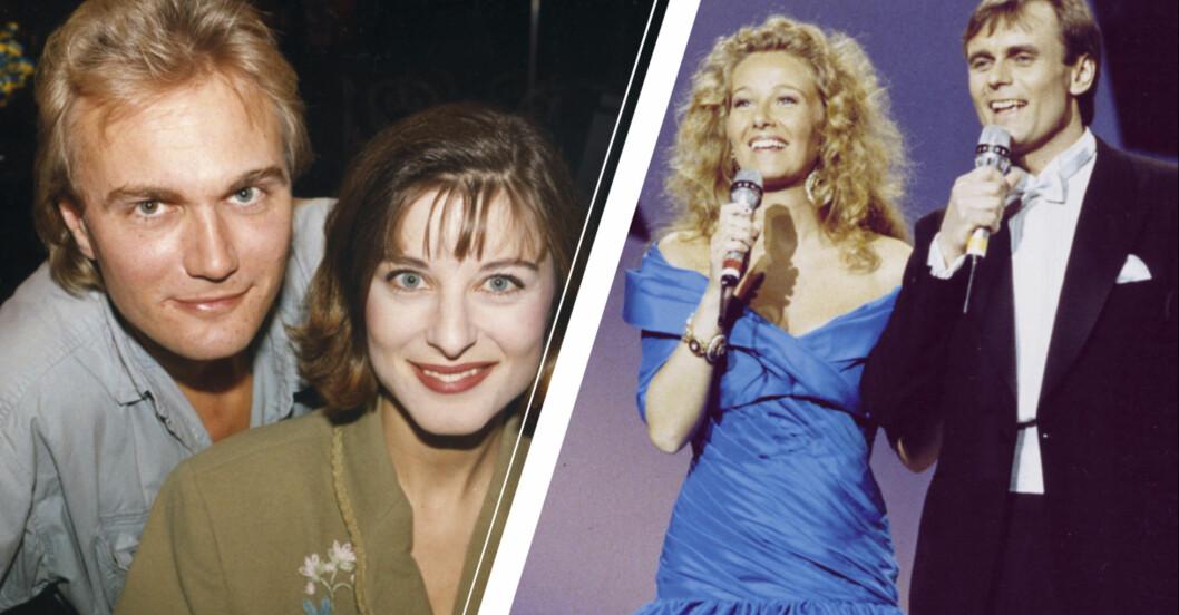 tidigare programledare i Melodifestivalen