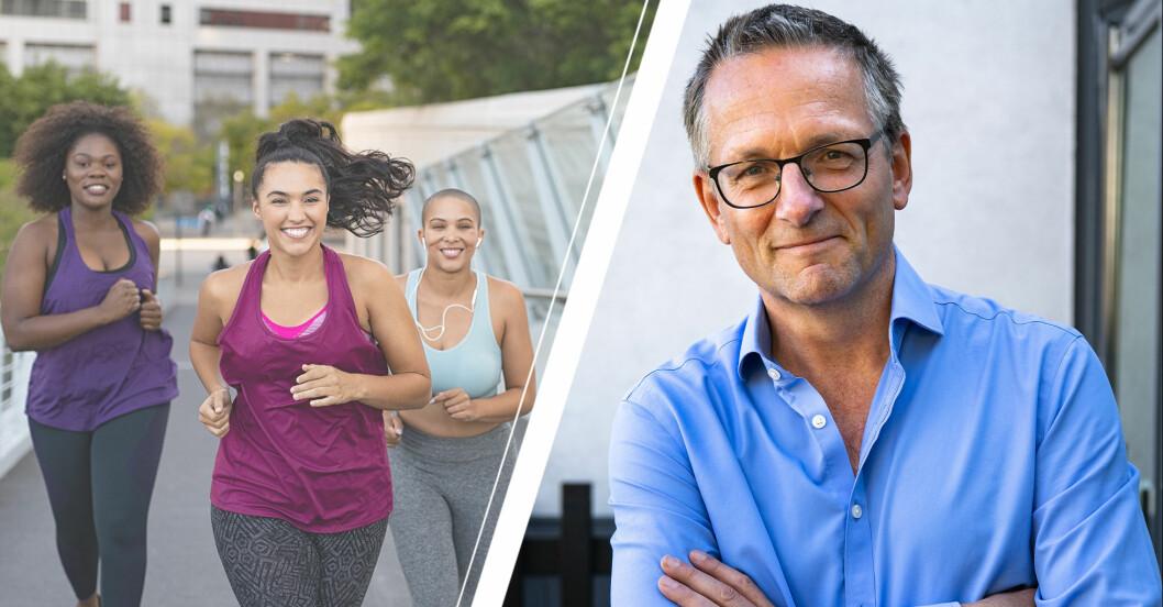 Dr Michael Mosley/ hälsosamma kvinnor som tränar