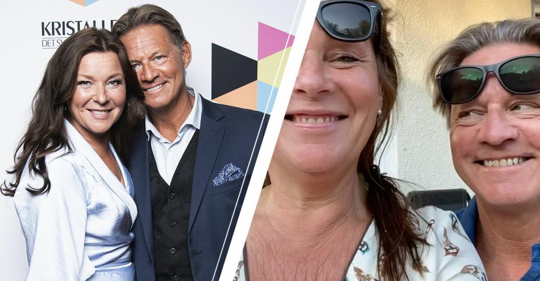 Lotta Engberg och Mikael Sandströms video – visar för första gången