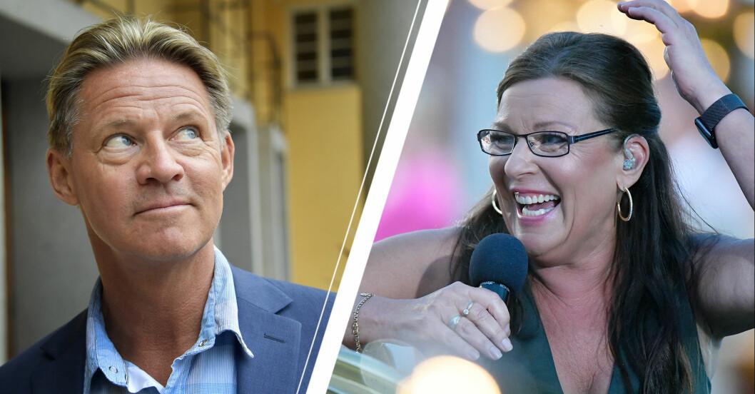 Mikael Sandström och Lotta Engberg är ett par.
