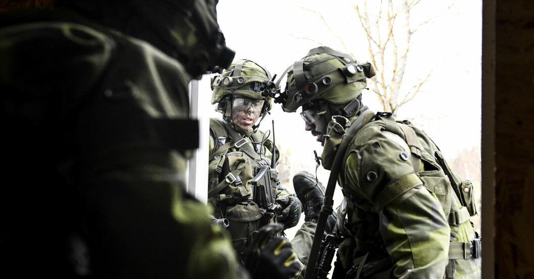Svenska militären