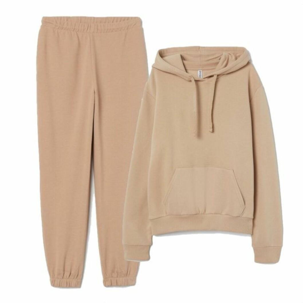 Hoodie och sweatpants från H&M