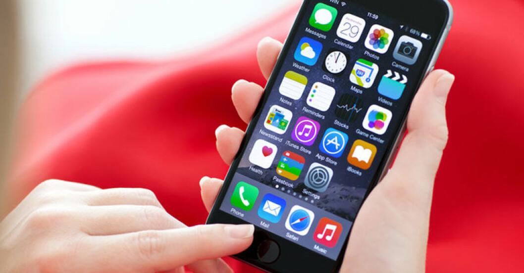 Din mobil avslöjar vem du är