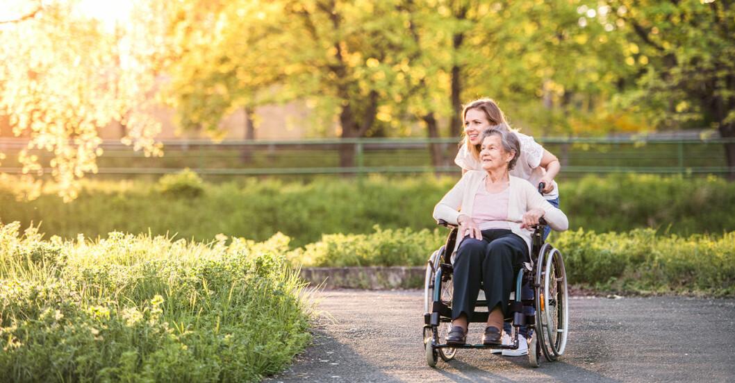 Symptom på Multipel Skleros (MS)