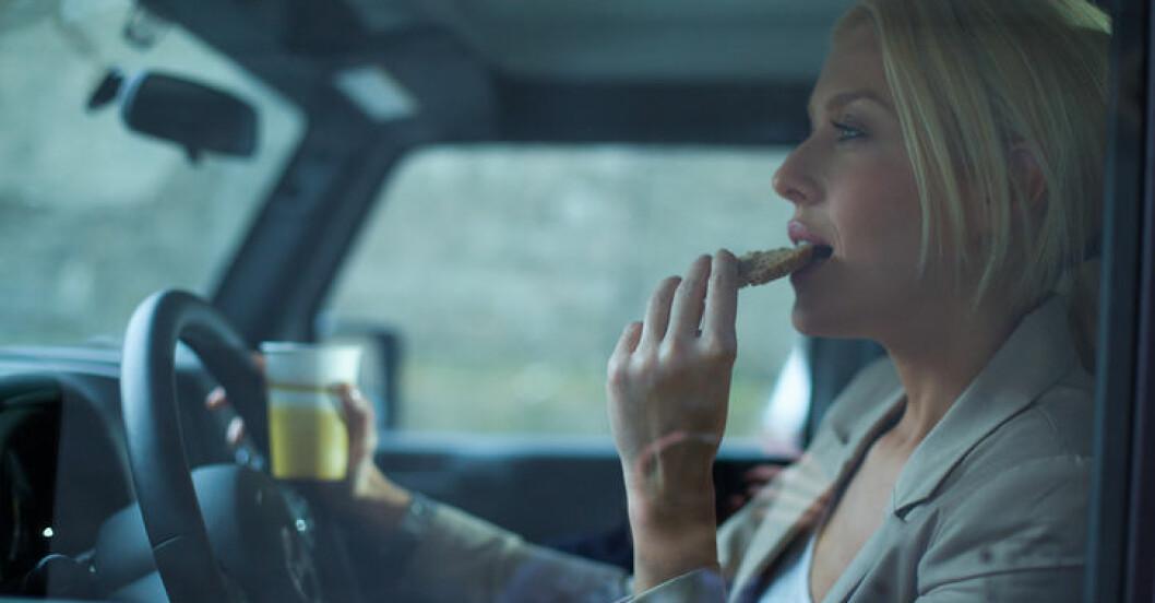 När du äter är viktigt.