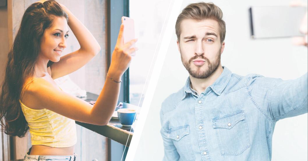 Kvinnlig narcissist, manlig narcissist