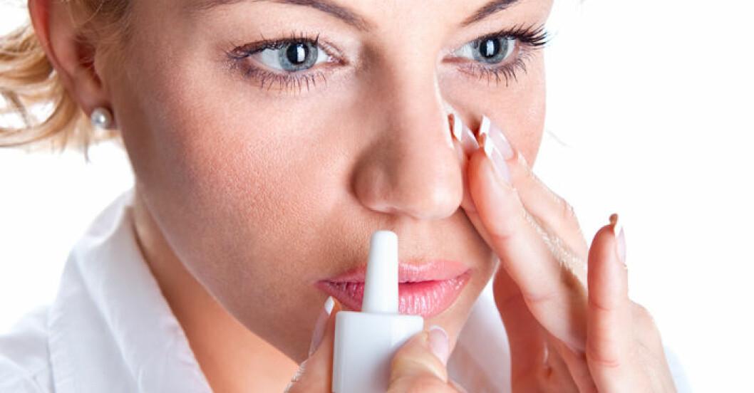 Är du beroende av din nässpray? Så här blir du av med problemet!