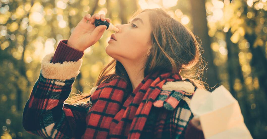 Nässpray kan hjälpa mot depression.