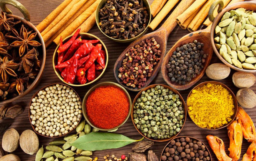 Din kryddhylla kan vara rena rama medicinskåpet!