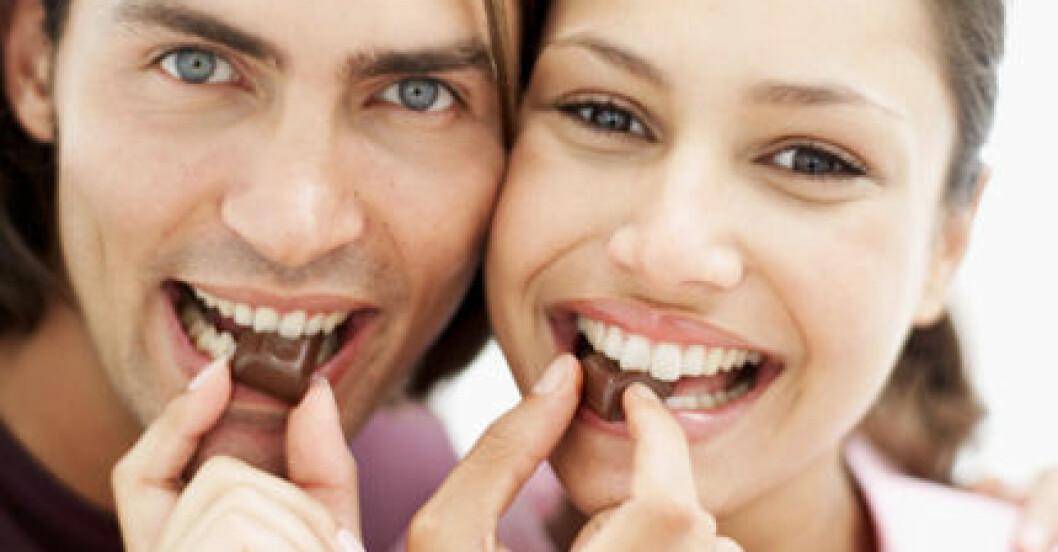 Choklad ger många bra hälsoeffekter.